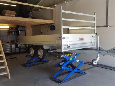 veluw onderhoud aanhangwagen putten