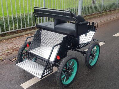 mix veluw marathonwagen shetlander vierwielige wagen nieuw