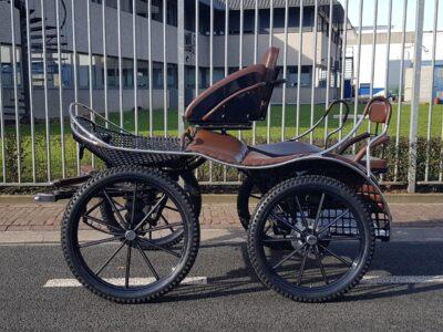 Ergonomic enkelspan marathonwagen van veluw putten nieuw