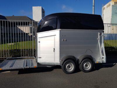 Bockmann trailer met koetsenframe mentrailer veluw putten