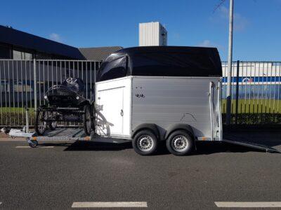 bockmann trailer met koetsenfame mentrailer veluw putten nieuw