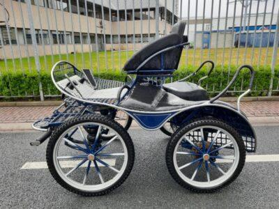 ergonomic marathonwagen gebruikt enkel en tweespan pony