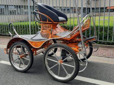ergonomic marathonwagen enkelspan pony gebruikt